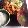 うなぎの日高 - 料理写真:500円バイキングの味噌汁と御飯