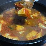 焼肉釜山 - 料理写真:豆腐チゲ