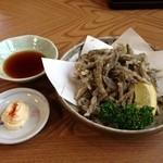 レストハウスとみい - どじょうの唐揚げ(700円)  絶品です!!
