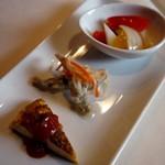 バルバニーカフェ - 前菜3種