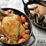 森のボナペティ - ストーブの鍋を使った、お料理も自慢です。要予約。