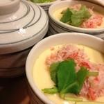 大江戸寿司 - ズワイガニの茶碗蒸し