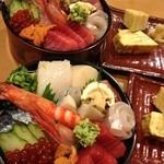 大江戸寿司 - 潮さいちらし ¥2500