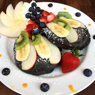 大人気 ブラックパンケーキ