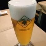 ピアチェーレ - ドリンク写真:生ビール•ハートランド