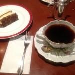 ホシヤマ珈琲店 アエル店 - チーズケーキと珈琲