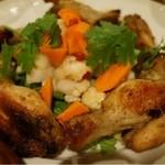 びるまの竪琴 - 鶏肉とピクルス