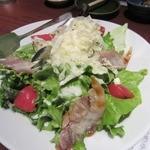 北の味紀行と地酒 北海道 - ・「イベリコ豚のシーザーサラダ(\924)」
