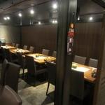 北の味紀行と地酒 北海道 - 店内一部様子。
