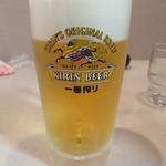 AGNI - ドリンク写真:生ビールは400円、安い
