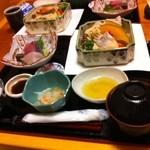 19764453 - 野菜蒸し料理ランチセット1380円