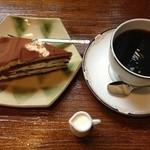 珈房 武田 - 料理写真:ケーキセット@650円