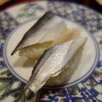 太助寿司 - こはだ(¥115)いけます♪