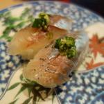 太助寿司 - 鯵(¥160)も美味しい!