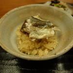 19766293 - 天竜川産鮎の炊き込みご飯