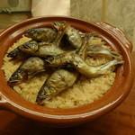 19766297 - 天竜川産鮎の炊き込みご飯