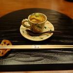 19766342 - 雲丹の冷製茶碗蒸し