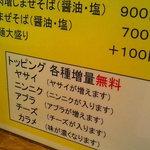 麺処 マゼル - いわゆるマシマシ系?