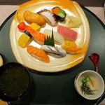 鮨処たつみ - 料理写真:岬ランチ(限定20食)