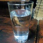 とり庄 - 黒霧島お湯割り450円
