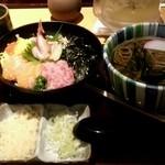 19771005 - 海鮮丼定食