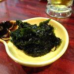 立呑み 大黒 - 磯海苔