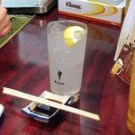 立呑み 大黒 - 樽ハイレモン