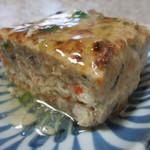 和食屋の惣菜 えん - 豆腐と山芋のふわふわハンバーグ