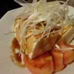 天龍軒 - 豆腐サラダ:200円