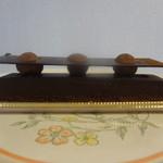チェッカーズパティセリーカウンター - オレンジとチョコのタルト