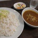 みみみ堂 - チキンカレー850円