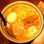 花火 - 塩そば(塩ラーメン)