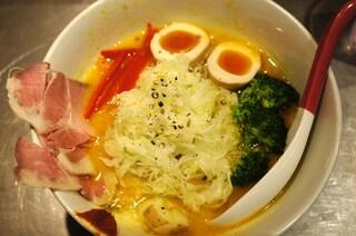 ソラノイロ Japanese soup noodle free style 本店 - 特製ベジソバ
