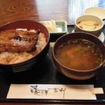 吉利 - うな丼定食、1,620円