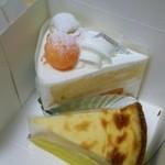 パティスリー・ショコラトリー サンニコラ - メロンのショートケーキ、タルトフロマージュ