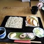 19789031 - もりそば 野菜天ぷら盛り合わせ