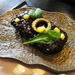 和食屋 はんなり - 2013.06_月替りランチ御膳(920円)米茄子肉味噌田楽