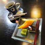 和食屋 はんなり - 2013.06_月替わりランチ御膳(920円)食後のコーヒーとデザート
