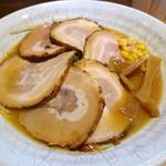 かじべえ - 旭川味噌らーめん 700円  +チャーシュー 200円