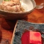 19793724 - てびち&豆腐よう