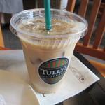 タリーズコーヒー - アイスカフェラテ 340円