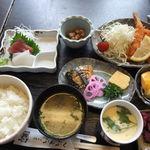 ぶんぶく - 私のお昼膳、1050円。