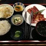 焼肉のがんこちゃん - 焼肉定食 900円
