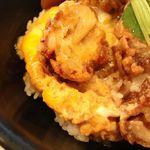 19795581 - 鶏唐柚子胡椒丼アップ