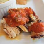 クマキッチン - サルサソースのチキン