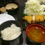 Shunsai - ミルフィーユとんかつ+御飯セット