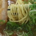 赤塚パーキングエリア(上り線) スナックコーナー - ねぎかつ味噌ら~麺(830円)