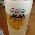 八角 - 凍るような生ビール!