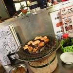 ホルモン焼 珍満 - 名物のしろマル590円