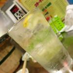 ホルモン焼 珍満 - レモンチューハイ420円
